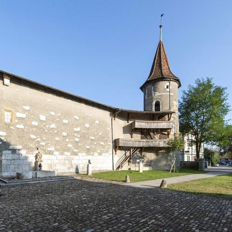 Schloss Nidau. Vergrösserte Ansicht