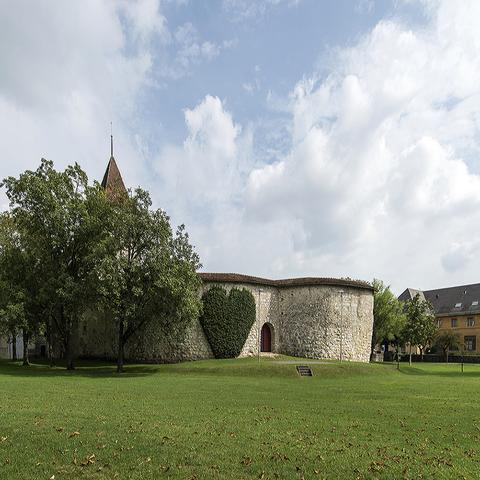Schlosspark. Vergrösserte Ansicht