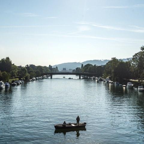 Nidau-Büren-Kanal. Vergrösserte Ansicht