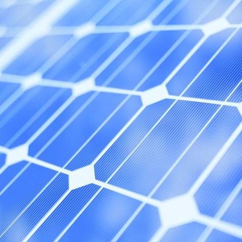 Solarpannel 2. Vergrösserte Ansicht