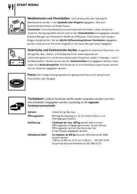 Sonderabfälle Seite 2